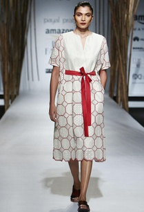 red-white-octagonal-embroidered-midi