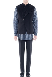 black-jacket-with-asymmetrical-opening