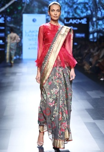 shadow-grey-sari-with-rose-motif