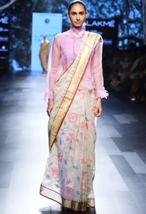 ivory-sari-with-floral-motif