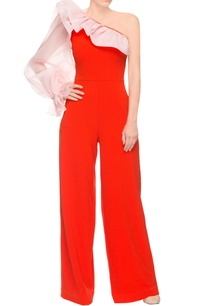 orange-one-shoulder-jumpsuit
