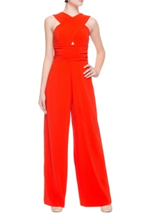 bright-orange-jumpsuit-with-cross-over-pattern