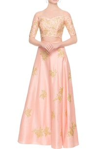 peach-rose-lehenga-crop-top