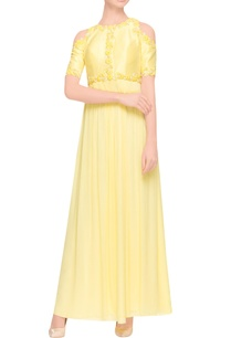 lemon-yellow-maxi-dress