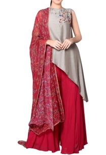 grey-asymmetric-tunic-with-embroidery