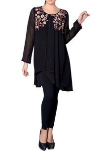 black-flap-tunic-with-floral-embroidery