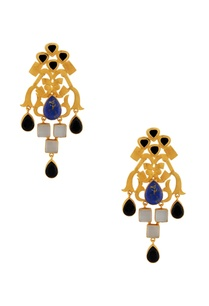 gold-earrings-with-black-blue-enhancement