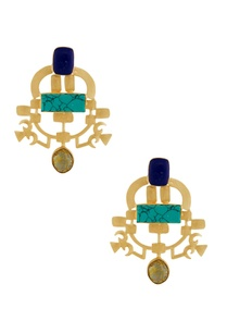 gold-blue-stone-earrings