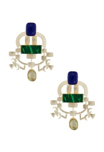 green-blue-stone-earrings