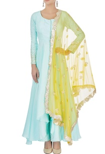 powder-blue-kurta-set-with-yellow-dupatta