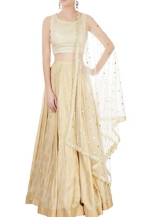gold-lehenga-set-with-embroidered-dupatta