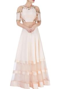 pastel-pink-skirt-set