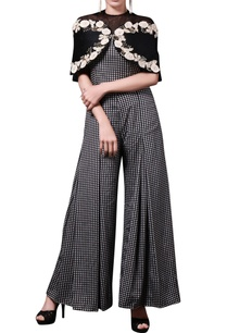 black-white-jumpsuit-with-cape