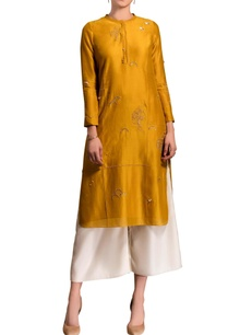 mustard-yellow-kurta-set-with-embroidery