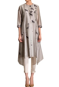 grey-asymmetric-kurta