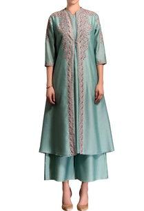 sea-green-embroidered-jacket-palazzos