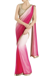 pink-shaded-sari-with-embroidery