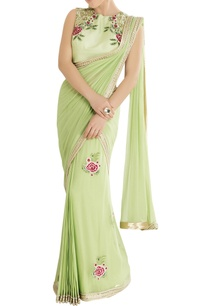 mint-green-sari-with-embroidery