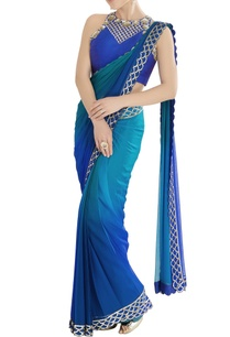 blue-shaded-sari-with-scallop-embroidery