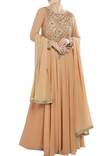 peach-anarkali-set-with-embroidery