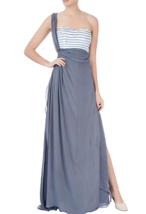 grey-one-shoulder-gown