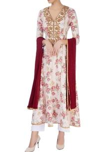 pink-white-embroidered-kurta-set