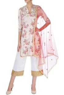 pink-white-abla-embroidered-kurta-set