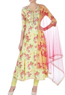 green-embroidered-anarkali-with-dupatta
