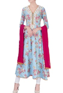 blue-anarkali-set-with-poth-embroidery
