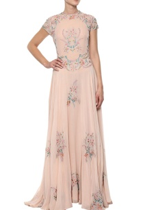 peach-floral-embroidered-gown