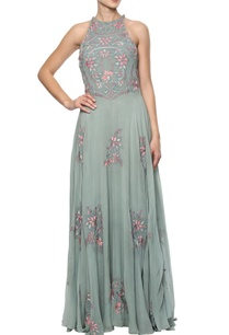 green-embroidered-gown