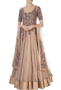gold-embellished-anarkali-with-dupatta