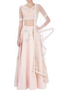 peach-lehenga-with-blouse-dupatta