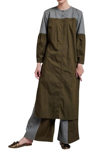 military-green-zero-waste-tunic