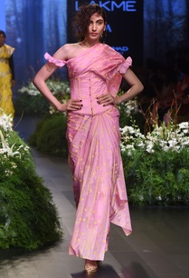 pink-turf-sari-with-blouse