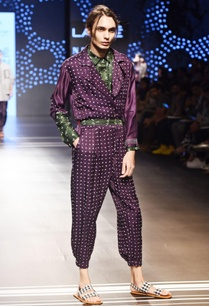 purple-bandhani-jumpsuit-with-belt