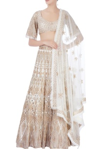 gold-embellished-lehenga-set