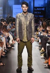 khaki-textured-weave-shirt