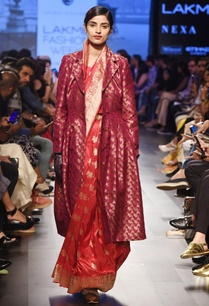 rose-red-silk-sari