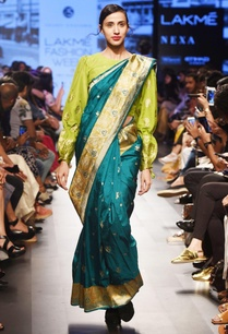 moss-green-silk-blouse