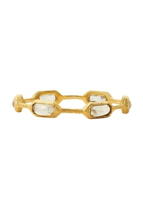 gold-plated-bangle-with-clear-crystals