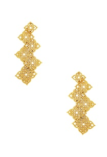 gold-plated-filigree-work-earrings