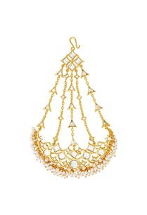 gold-plated-passa-with-mirror-work-pearls