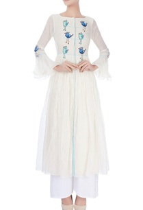 white-anarkali-with-bird-patches