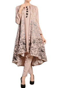 pastel-pink-kurta-set-with-jacket