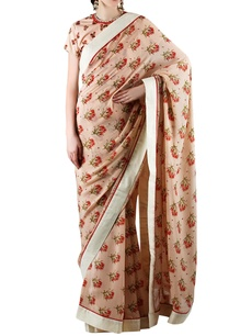 peach-printed-embellished-sari