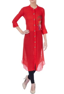 red-bird-embroidered-kurta