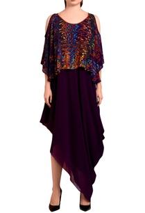 purple-draped-maxi-dress