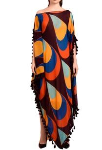 wine-printed-maxi-dress