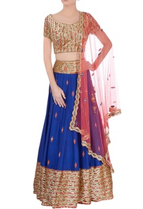 royal-blue-red-lehenga-set
